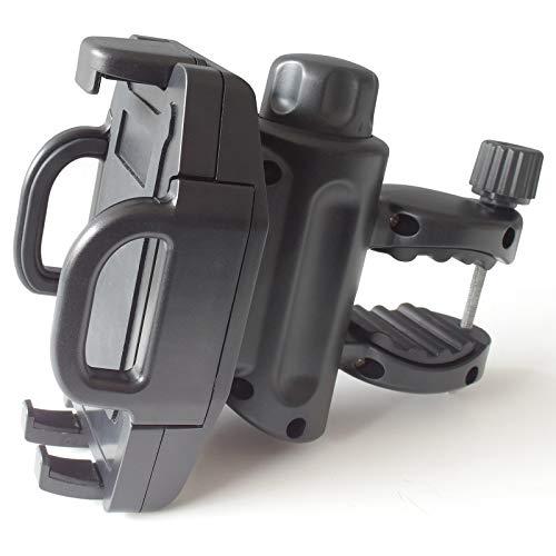 Extra sterke universele Smartphone of MP3 speler houder voor Fiets Motorfiets op stuur Scooter Quad Trike Navi Model: IP24