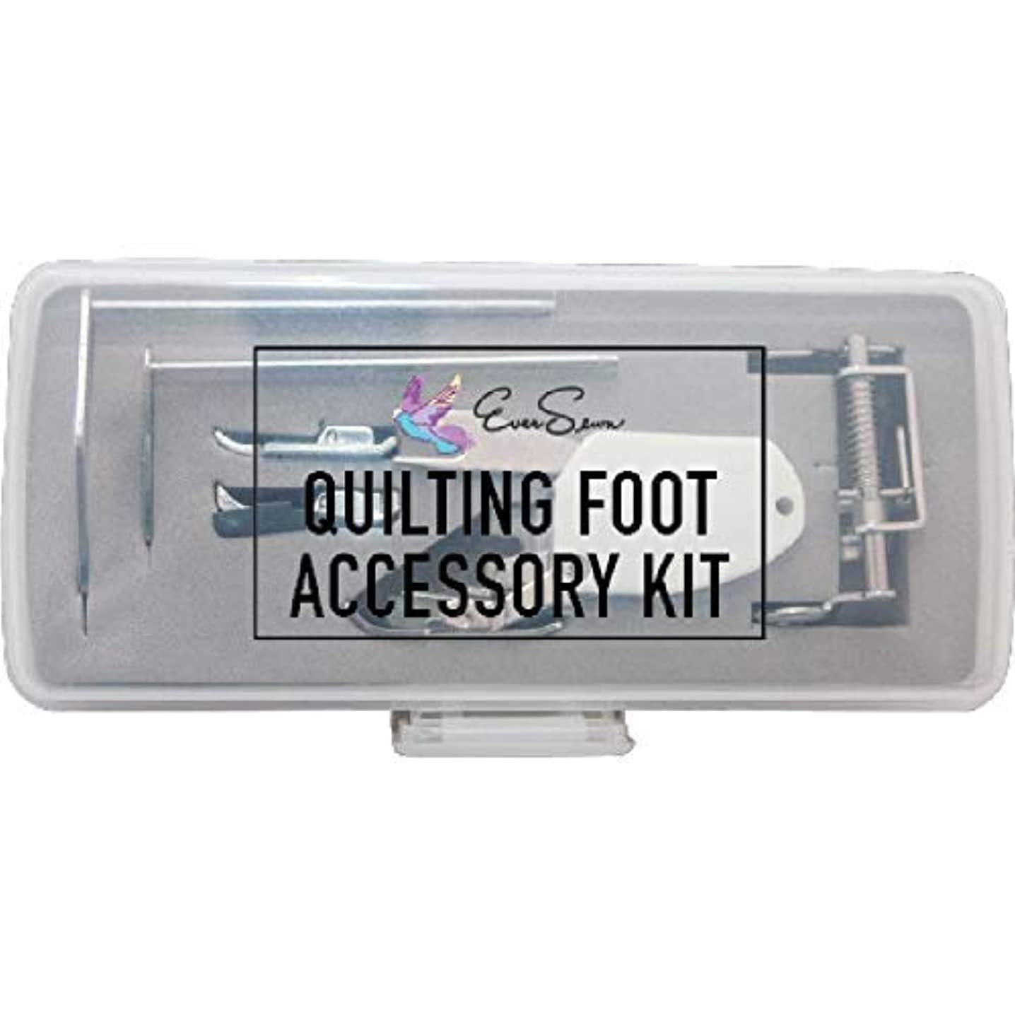 Ever Sewn Eversewn 6-pc Accessory Quilting Foot Kit Low Shank