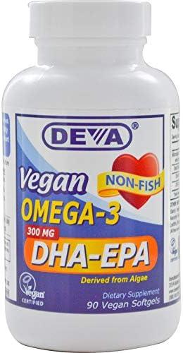 DEVA VEGAN VITAMINS OMEGA 3 DHA EPA VEGAN H P 90 SGEL product image