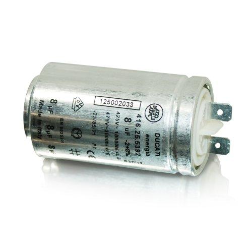 Linge ZANUSSI Sèche interférences Condensateur 8UF 1250020334