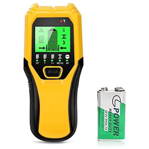 Stud Finder Wood Metal Detector - 5 in 1 Electronic Stud Sensor Wall Scaner Beam...