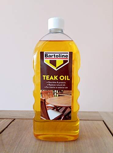 Bartoline 26214670 Teak Oil 1L, 0