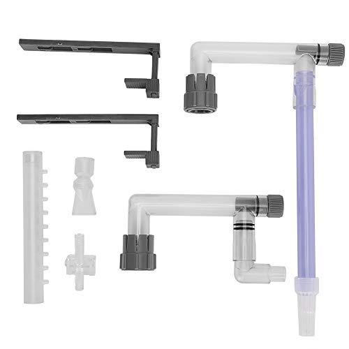 OhhGo Aquarium-Filter, wandmontierter Filter, Außenfilter-Ausrüstung, kleiner Filtereimer