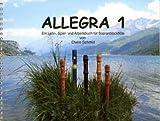 ALLEGRA 1 - arrangiert für Sopranblockflöte - Karten - CD 1 [Noten / Sheetmusic] Komponist: SCHMID CLAIRE