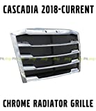 CHROME Freightliner Cascadia 2018 2019 2020 Front Radiator Grille Grill Bug Screen