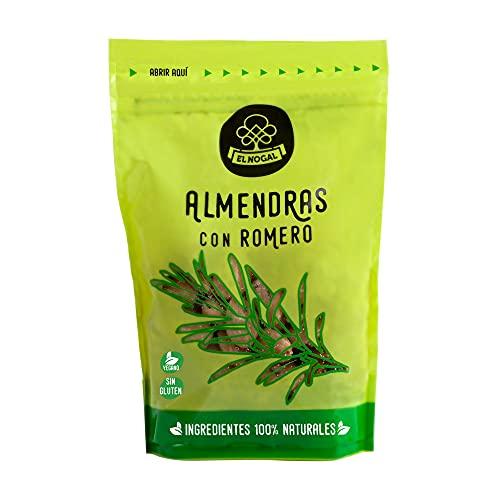 EL NOGAL Frutos Secos Almendras con Romero Doypack, 110 G