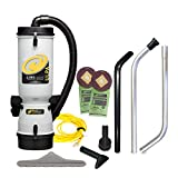 ProTeam Commercial Backpack Vacuum Cleaner, LineVacer ULPA Vacuum Backpack with High Filtration Tool Kit, 10 Quart, Corded