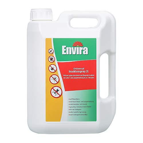 Envira Universal Insektenspray - Insektizid Mit Langzeitwirkung - Insektenschutz Auf Wasserbasis, Geruchlos - 2 Liter