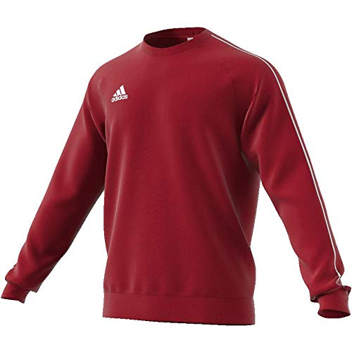 adidas Herren Core 18 Sweat Trainingstop, Power Red/White, XS