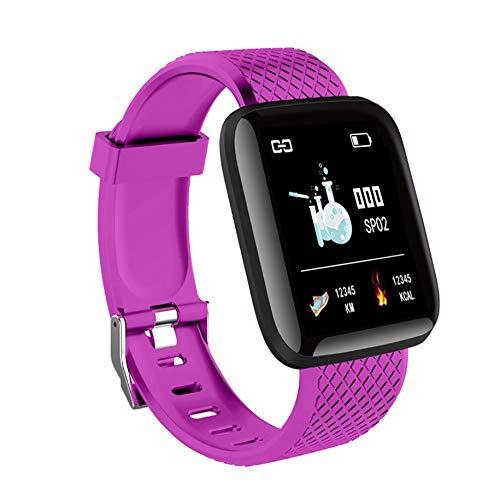 116 más reloj inteligente 1.3 pulgadas Tft pantalla a color impermeable deportes fitness actividad Tracker reloj inteligente