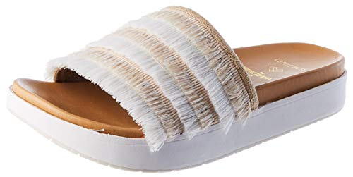 Minnetonka Damen TAUPE Sandale, 39 EU