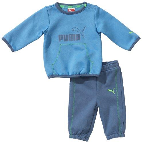 PUMA Baby Anzug ESS Infant Crew Jogger, Azure Blue, 92, 824155 02