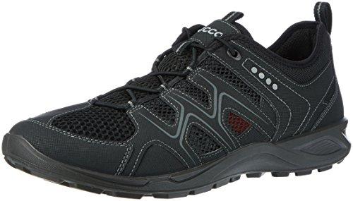 ECCO Herren Terracruise Outdoor Fitnessschuhe, Schwarz Black Black 51707, 44 EU