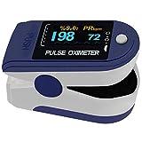 Pulox Oxímetro de Pulso PO-200 Solo para medir la saturación de oxígeno y el Pulso con Pantalla OLED Clara y giratoria