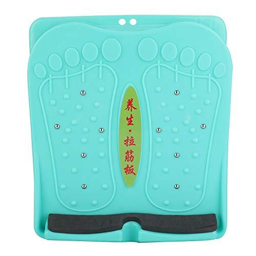 Zer one Despliegue ergonómico del pie de la Camilla del pie Plegable del hogar portátil, tableros de inclinación Ajustables Tablero del Pedal de la inclinación de la Aptitud de la Pierna del Masaje