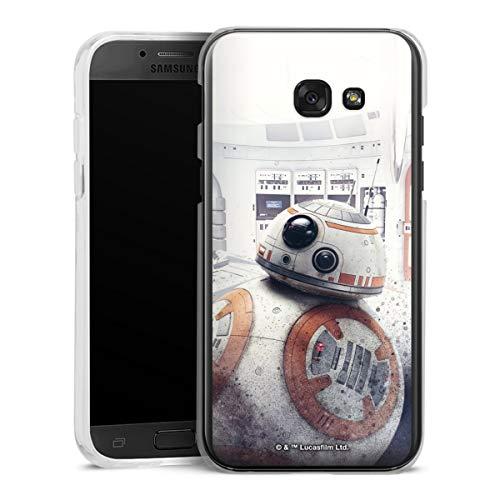 DeinDesign Hard Case kompatibel mit Samsung Galaxy A5 (2017) Schutzhülle transparent Smartphone Backcover Star Wars Roboter Fanartikel