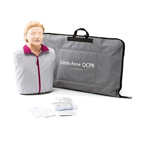 Maniquí de entrenamiento Little Anne QCPR Laerdal, color piel claro