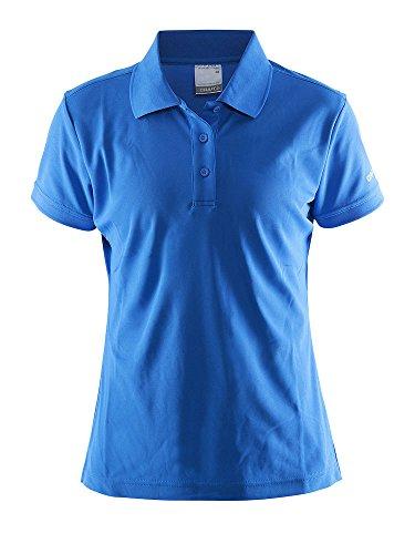 Craft Damen Polo Pique Classic W Polohemd, swedenblue, XL