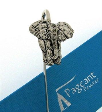 Qualität English Pewter Elephant Safari Buch Leser Lesezeichen New