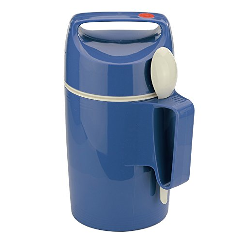 ROTPUNKT 503048Recipiente per Alimenti, in plastica, Colore: Blu, 12,1x 12,1x 25,7cm