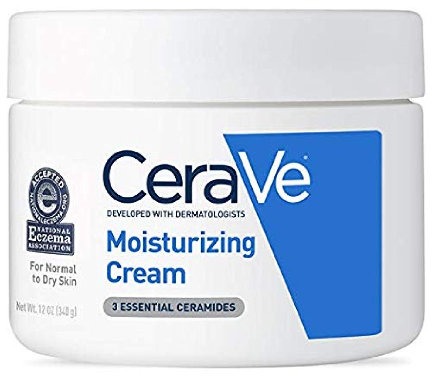 亡命コジオスコマニアCeraVe (セラヴィ) モイスチャライジングクリーム CeraVe Moisturizing Cream Daily Face and Body Moisturizer for Dry Skin