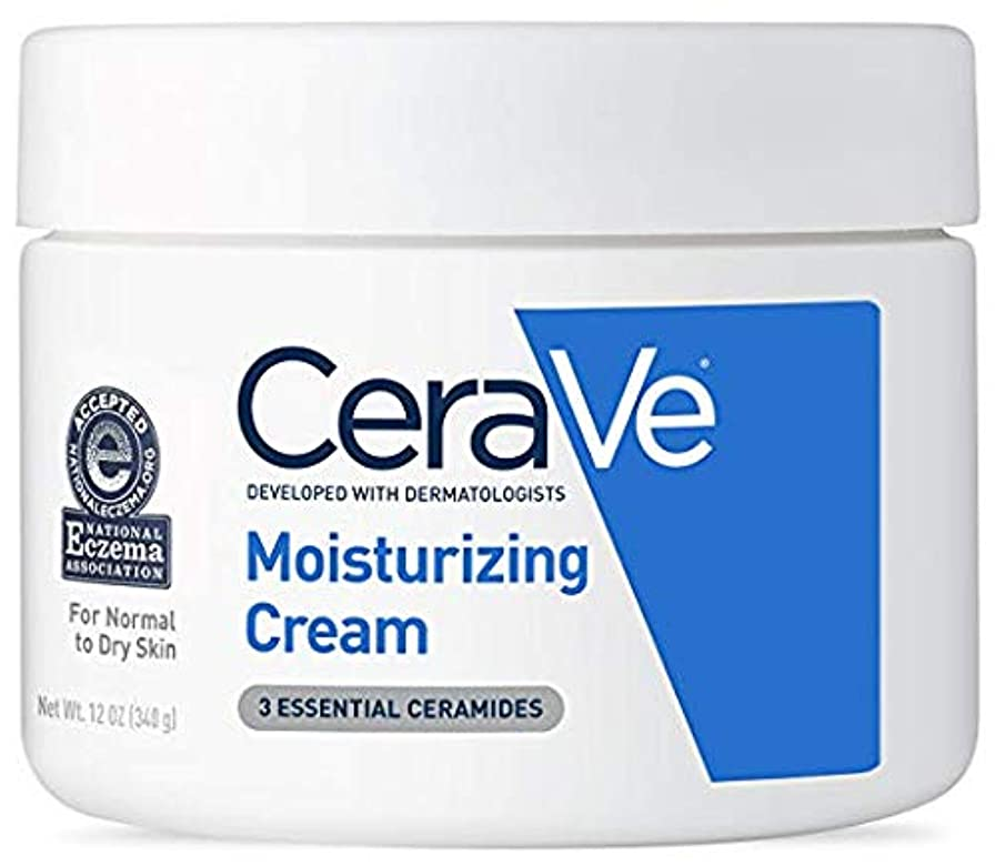 特権エール信じられないCeraVe (セラヴィ) モイスチャライジングクリーム CeraVe Moisturizing Cream Daily Face and Body Moisturizer for Dry Skin