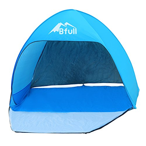 Bfull Pop Up Beach Tent Outdoor Tent Child Play Tent Automatic Instant Portable Cabana and Sun Shelter for 1-2 Person