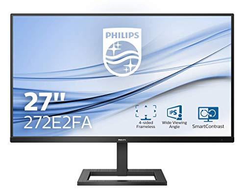 Philips 272E2FA 68 cm (27 Zoll) Gaming Monitor (HDMI, DisplayPort, 4ms Reaktionszeit, 1920 x 1080, 75 Hertz, FreeSync) schwarz