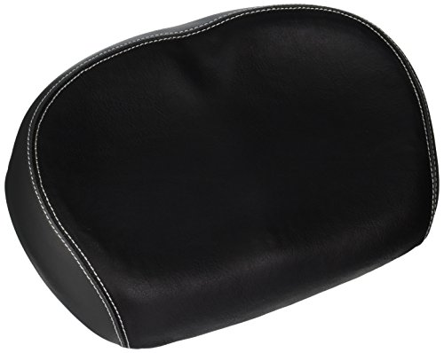 Schwinn Comfort Bike Seat, Foam, Noseless Saddle, Black
