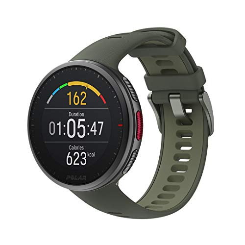 POLAR Vantage V2 - Premium Multisport Smart Watch with GPS, Wrist-Based Heart Rate Measurement for Running, Swimming, Cycling, Strength Training