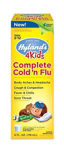 Cold and Flu Medicine for Kids Ages 2+ by Hyland's, Complete...