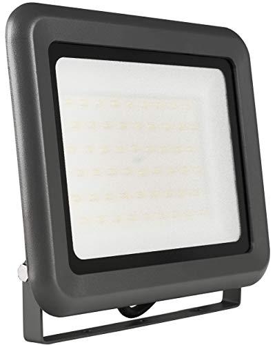 LUMIRA LED Fluter 50W, Ersatz für 500W Flutlicht-Strahler, Außen-Leuchte für Innen- und Außenbereich, IP65, Kaltweiß