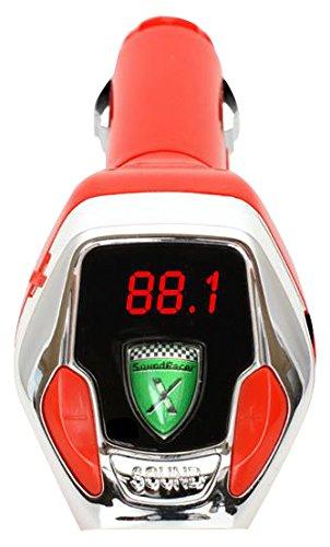 SoundRacer GH-SRVX SoundRacer X mit Micro-SD-Steckplatz, Rot