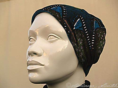 Kopfband im heißen Afrostil für den Winter