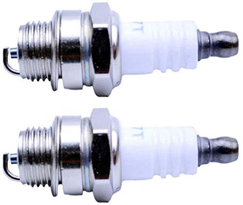Wai Danie 2 bujías de repuesto Compatible con BPMR7A 4626 Bosch WSR6F 7547 Compatible con Champion RCJ6Y 852