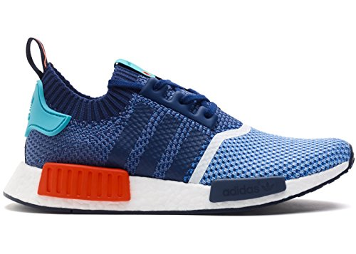 adidas NMD R1 PK Primeknit Packers - Blue/Turquoise/Red 41 1/3 EUR