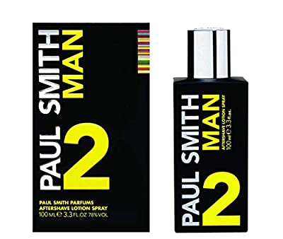Paul Smith Man 2 Aftershave Lotion Spray, 100ml from Kenneth Green Associates