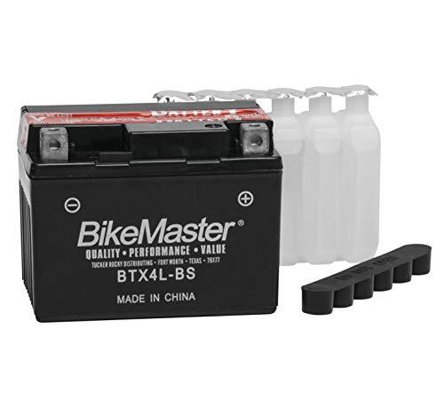 BikeMaster Maintenance Free Battery BTX4L-BS for Honda MSX125 Grom 2014-2018
