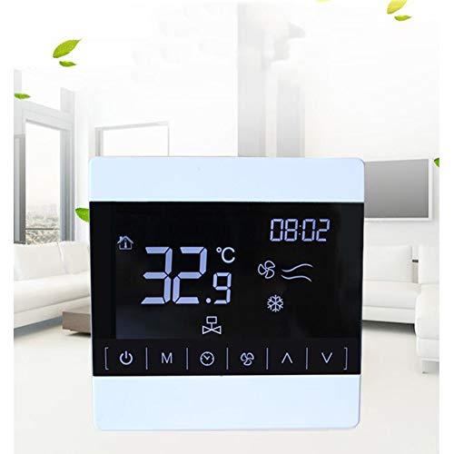WMC LCD-Touch-Screen-Zentrale Klimaanlage Thermostat, LCD Line Controller Intelligent Temperaturregler Temperatur Controlle