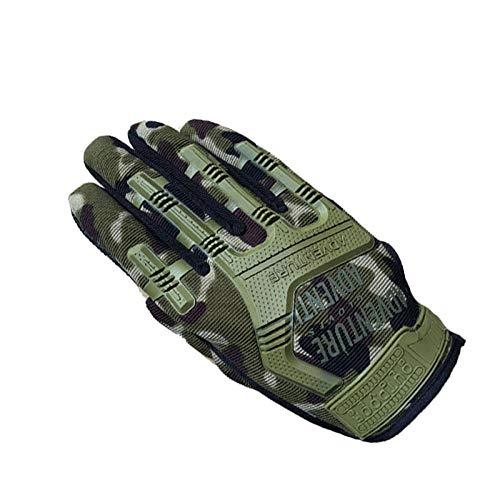 Tactische handschoenen, lange vingers, technicus, speciale eenheden, gevechting, fans, zegel, bergbeklimmen, outdoor, motorhandschoenen, lange vingers Eén maat camouflage