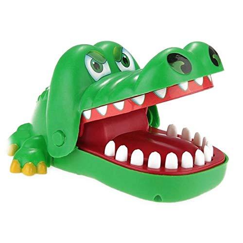 OMMO LEBEINDR Crocodile Biting Finger Spiele Lustige Spielwaren, Krokodil-Mund-zahnarzt Erwachsenen-Kind-Kind Für Urlaub Geschenke Krokodil-Mund-zahnarzt-Spielzeug