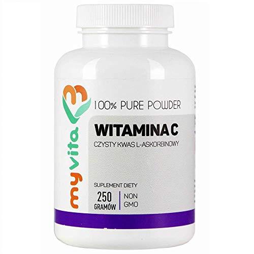 Vitamina C L-acido ascorbico in polvere 250g MyVita