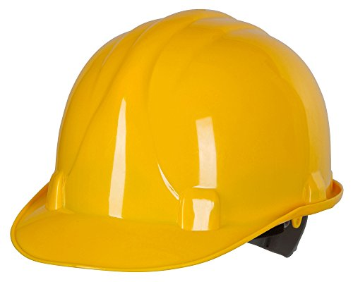 Kerbl 34501 Polyethylen Helm 6 Punkt Aufhängung, gelb