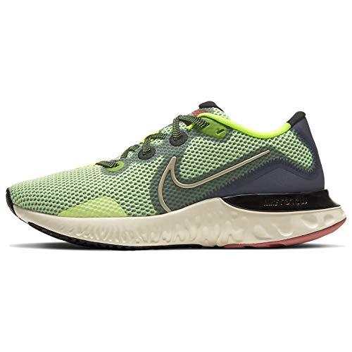 Nike Women's Renew Run Running Shoes (Volt/Grey, Numeric_9)