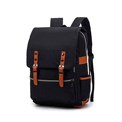 FANQIECHAODAN Sac à dos sac à bandoulière Sacoche pour ordinateur portable Business Briefcase Sac à main Loisirs Sac à dos multifonctionnel en toile imperméable pour voyage convient à 15,6 pouces pour