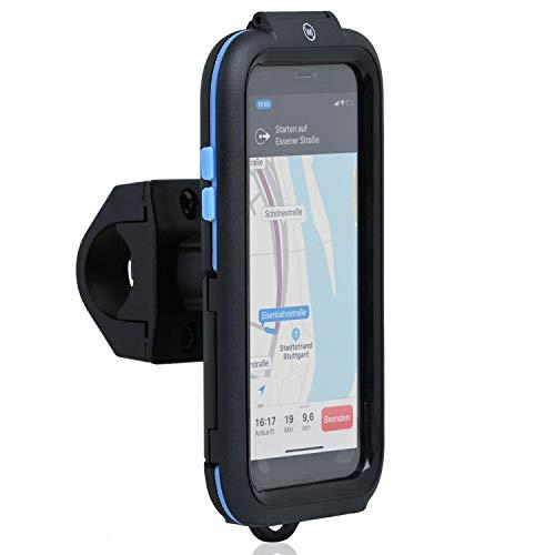 Wicked Chili Tour Case kompatible mit Apple iPhone XS/X - Bike Mount iPhone X, XS Fahrrad-Handy-Halterung für Navigation mit Face ID Unterstützung (Schutz vor Regen, Ladekabelanschluss)