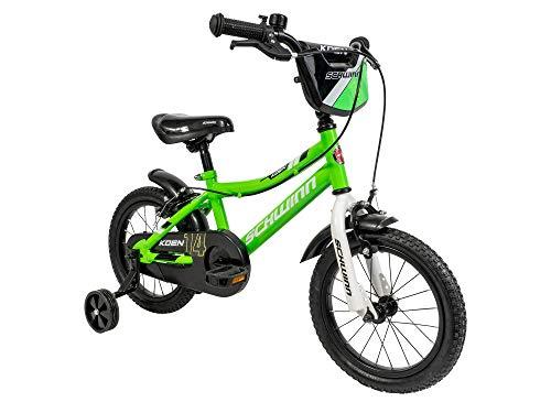 Schwinn Boys' Koen Bicycle, Lime Green, 14-inch Wheels