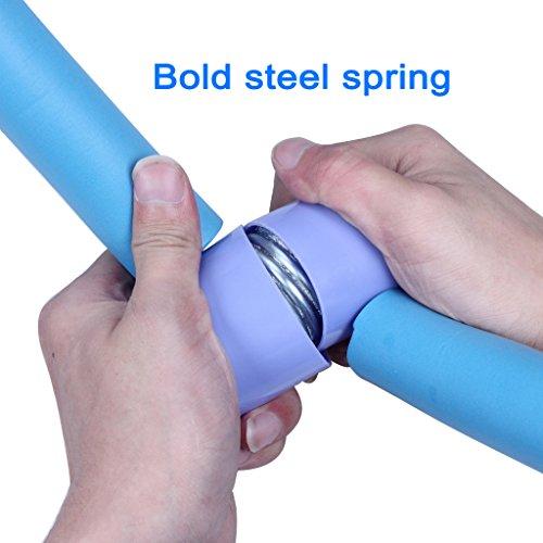 Dispositivo di allenamento della cintura per la coscia dell'attrezzatura per allenatore di forma della gamba dell'attrezzatura della coscia per la coscia Attrezzi per la ginnastica della casa Attrezzi delle anche (blu)