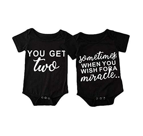 Pasgeboren Baby Jongens Korte Mouw Romper Grappige Letter Print Zomer Bodysuit Bijpassende Outfit Kleding