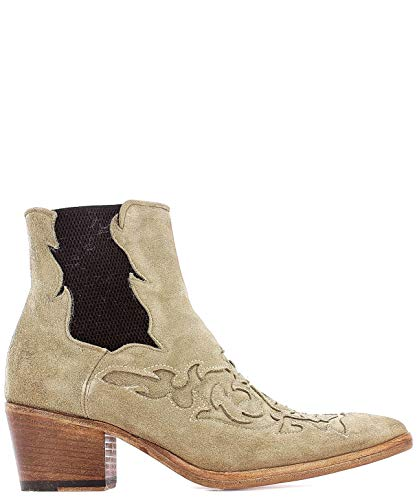 Alberto Fasciani Luxury Fashion Womens Ankle Boots Summer Beige